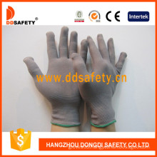 13 Gauge Grey Nylon Gloves, Anti-Static Gloves (DCH128)