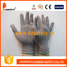 Grey Nylon Anti Static Gloves Dch128