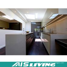 Mobília UV por atacado moderna dos armários de cozinha do MDF (AIS-K301)