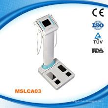 2015 CE, FDA, ISO geprüfte professionelle Körper Komposition Analyzer-MSLCA03W