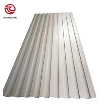 Tôles d'acier ondulées galvanisées de haute qualité
