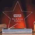 Star Trophies Crystal Awards -Free Engraving