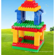 Tijolos de construção de plástico para crianças fazendo máquinas à venda