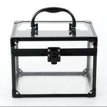 Les cas cosmétique acrylique de mode (hx-q050)