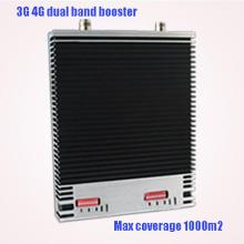 Высококачественный 2100 2600 МГц двухдиапазонный 3G 4G Signal Booster 4G Signal Booster Lte 2600MHz WiFi Signal Amplifier