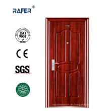 Puerta de acero de diseño simple (RA-S089)