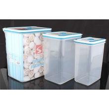 3PCS fijó el envase plástico del almacenaje del alimento (LFR3519)