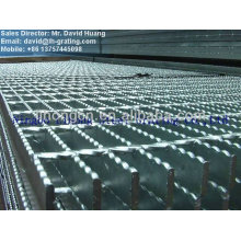 hot dip galvanized serrated grating. serrated steel floor