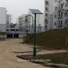 Lámparas solares exteriores para la calle, Polo verde Ip65 Luz de poste