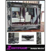 "Big Mirror 60X24"" bevelled silver"