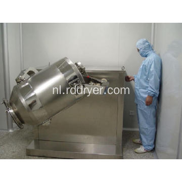 Lab Square Cone Powder / Bin Mixer Hopper Mixer