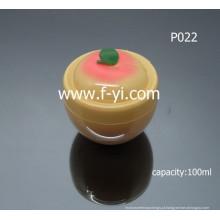100ml fruto bonito forma frascos cosméticos vazios