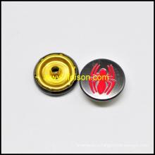 Оснастки Кнопка с логотипом паук