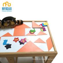 Escritorio magnético del bebé del niño que escribe los tableros blancos
