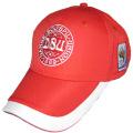 Embroidery design soccer sports baseball cap hat