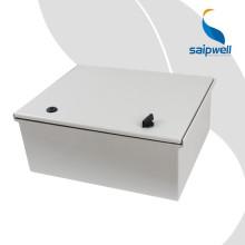 SAIP/SAIPWELL Direct Selling IP66 Electrical Waterproof Enclosure/Fiber Glass Box with Steel Mounting Plate