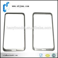 Accesorio elegante del diseño para la cubierta de los teléfonos móviles del iPhone Prototipos rápidos de aluminio