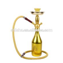 Vente en gros de bouteille Portable à bas prix narguilé vin de narguilé tige tige narguilé