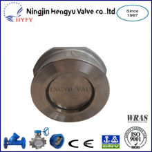 World famous wafer dual check valve
