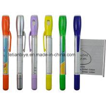 Bolígrafo publicitario LED de promoción (LT-C612)