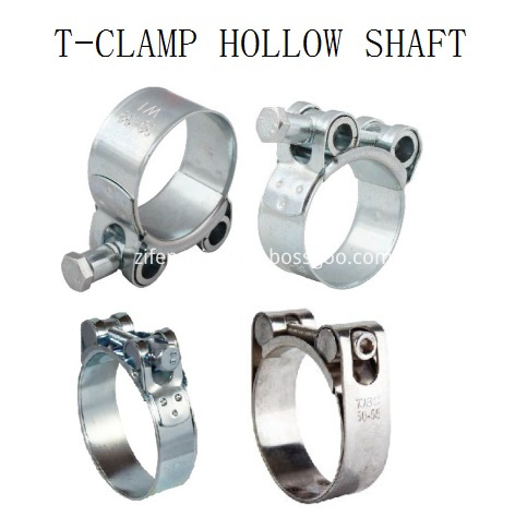 T-Bolt Clamps Hollow Shaft