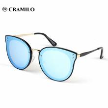 Últimas novedades modelo gafas de sol espejo azul gafas de sol