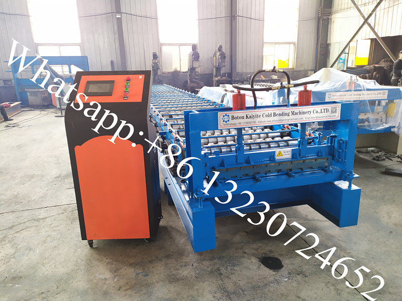 safe guard rolling door machine