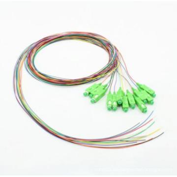 Sc / APC 12 Farbiges 0.9mm Optisches Kabel
