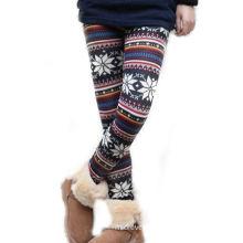 Winter Ladies / Girls Tight Pants , Long Slim Fit Pants For Women