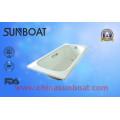 60 Inch Skidproof Enamel Steel Bathtub/Bathroom Washing Tub Health Grade