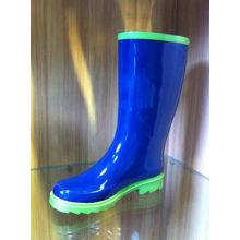 Size 41 Environmental Blue Half Rubber Rain Boots For Summer