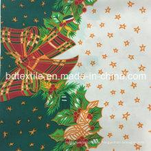 100% Polyester bedrucktes Gewebe, Mini Matt für 2016 Weihnachtsbekleidung Kleidungsstück, Haustextil, Vorhänge