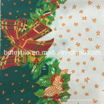 100% poliéster tecido impresso, Mini Matt para 2016 vestuário de pano de Natal, Hometextile, cortinas