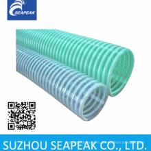 ПВХ спиральный шланг с пластиковыми ребрами