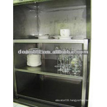 Machine roomless dumbwaiter elevator for hospital