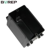 YGC-013 Boîte de jonction de panneau électrique gfci électrique en plastique de câblage de câblage