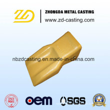 Bucker Tooth with Investment Casting