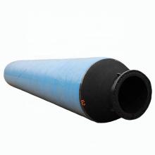 Flexible rubber discharge floating hose for dredging