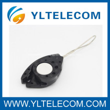 Pole Line Hardware FTTX Fiber Optic Accessories FOC Fish - Clamp Self Adjustable