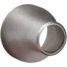 Aço Inoxidável 304 / 304L Butt Weld Pipe Excêntrico Redutor Acoplamento, Schedule 40