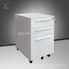 Pedestal móvel da gaveta do equipamento de escritório 3 de aço da fábrica de Luoyang
