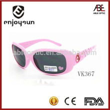 pink color kids plastic sunglasses wholesale Alibaba