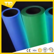 Película de transferencia de calor del poliuretano de la parte color resistanat de alta temperatura de la transferencia de calor con diseño modificado para requisitos particulares
