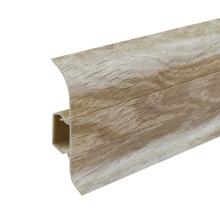 pvc baseboard for the flooring tile