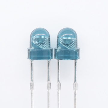 0.2W 850nm IR LED 3mm lente azul H4.5mm