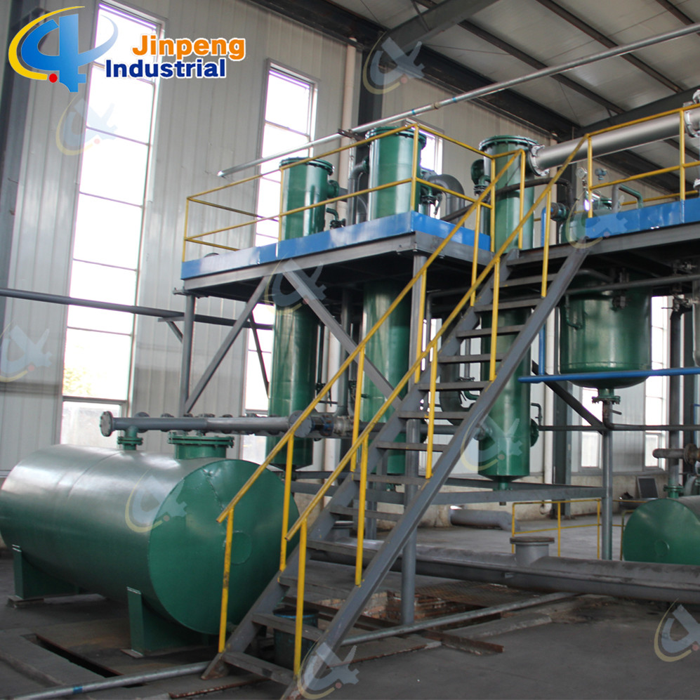 More Oil Output Pyrolysis Tire Recycling System