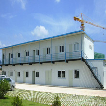 Economical Modern Two Storey Modular Prefabricated House