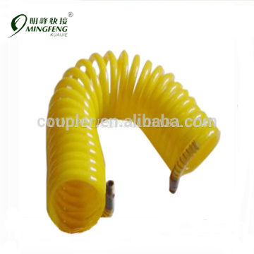 High pressure flexible HDPE air coil hose/Pneumatic recoil hose