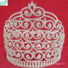 Concurso de beleza de coroa de diamantes de grande moda