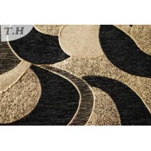 Hot Sale 2016 Black Chenille Sofa Cover Fabric